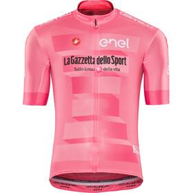 Castelli Giro d'Italia #102 Squadra Koszulka kolarska, krótki rękaw Mężczyźni różowy